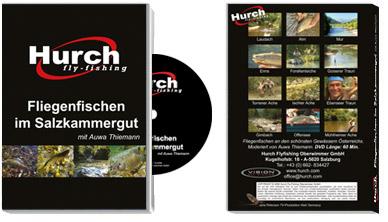 Film-DVD Fliegenfischen mit Auwa